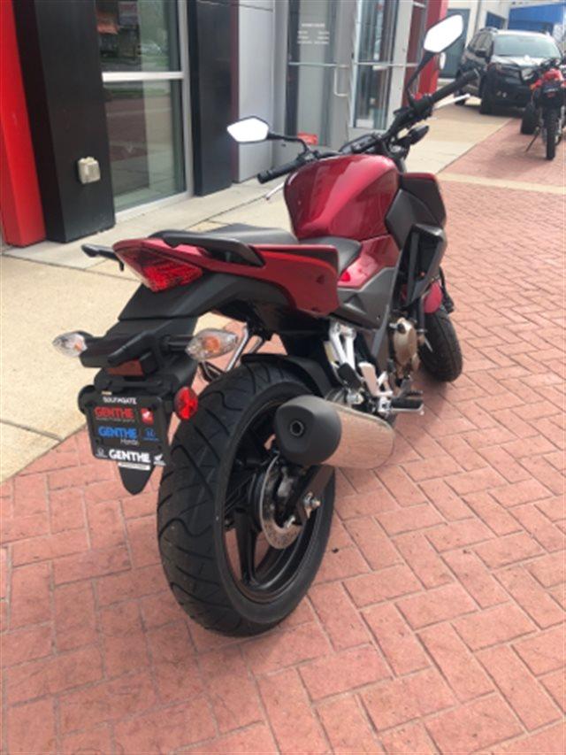 2018 Honda CB300F Base at Genthe Honda Powersports, Southgate, MI 48195
