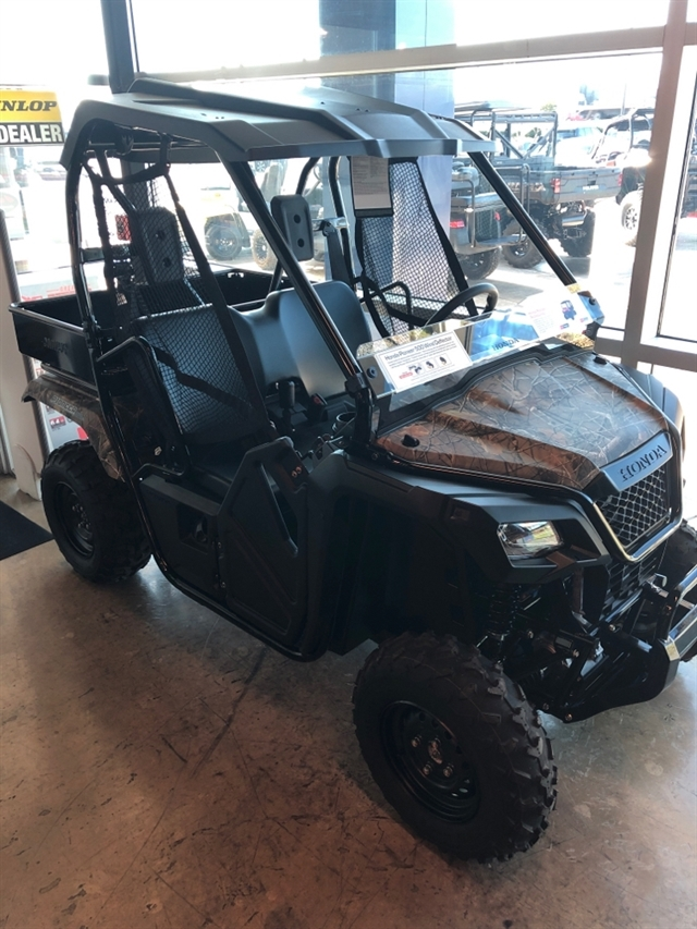 2019 HONDA SXS500M2K Camo at Kent Powersports of Austin, Kyle, TX 78640