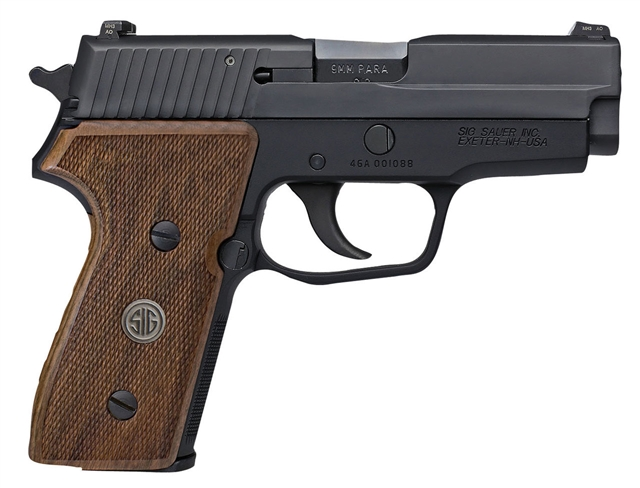 2018 Sig Sauer P225-A1 Nitron Compact w/ Wood Grips at Harsh Outdoors, Eaton, CO 80615