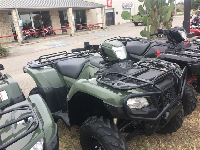 2018 Honda FourTrax Foreman Rubicon 4x4 Automatic DCT EPS at Kent Motorsports, New Braunfels, TX 78130