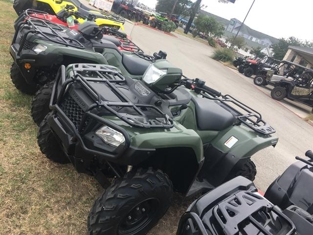 2018 Honda FourTrax Foreman Rubicon 4x4 Automatic DCT EPS at Kent Motorsports, New Braunfels, TX 78130