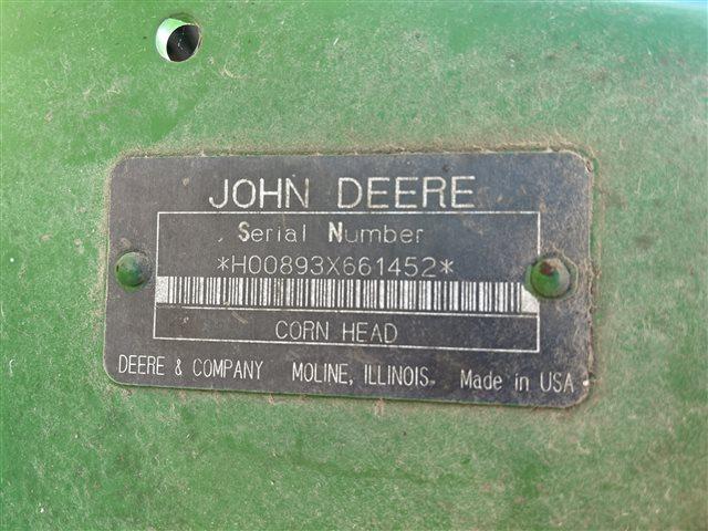 1995 John Deere 893 at Keating Tractor