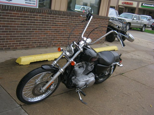 2009 Harley-Davidson XL883C - 883 Custom at Brenny's Motorcycle Clinic, Bettendorf, IA 52722