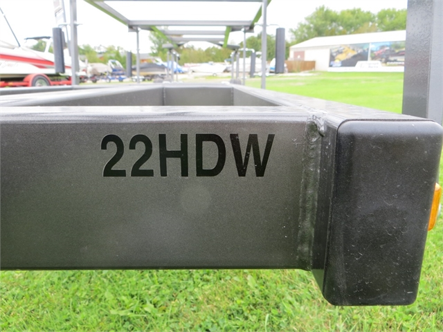 2022 Trophy Pontoon 22 HD 47 wide at Fort Fremont Marine