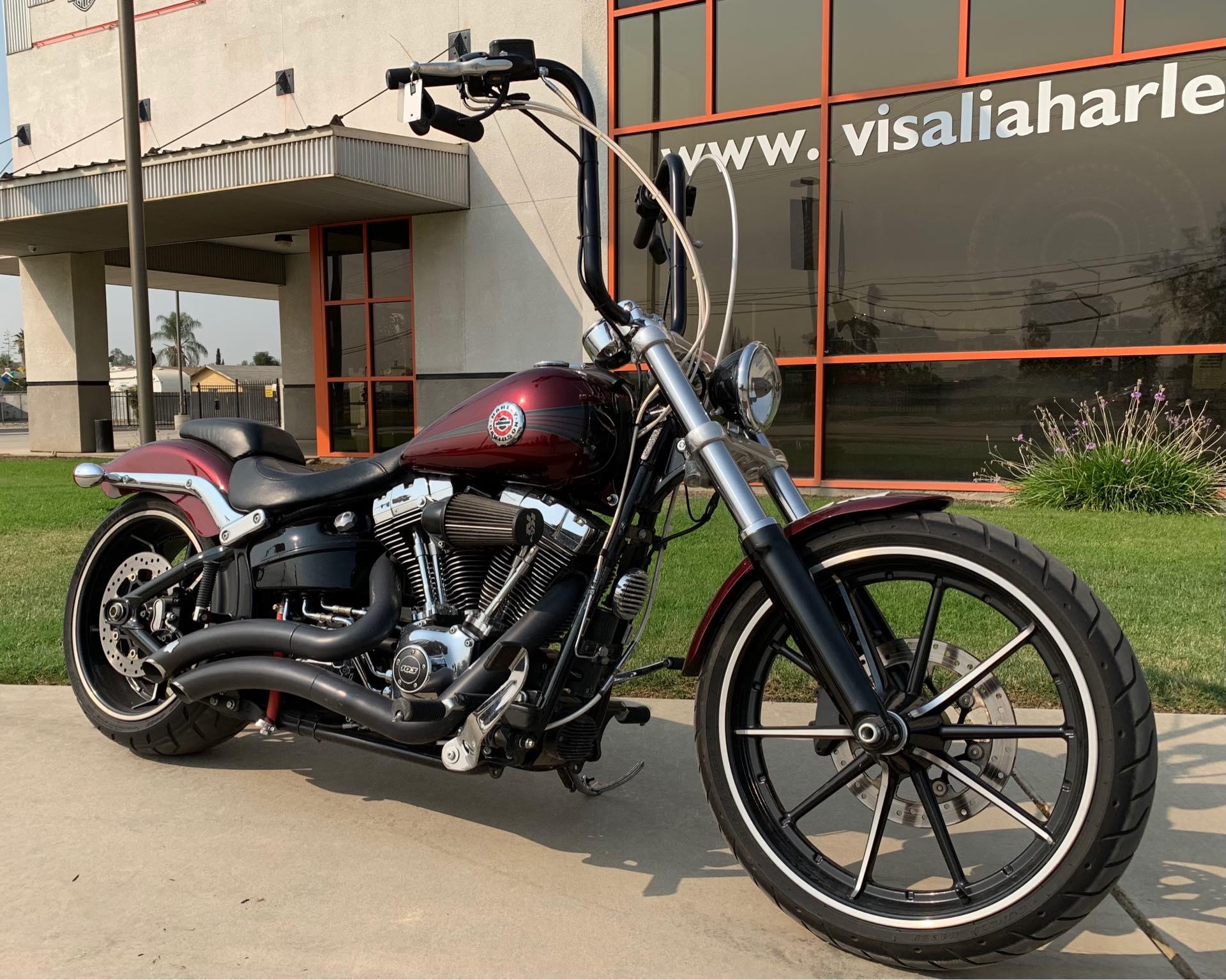 2015 Harley-Davidson Softail Breakout at Visalia Harley-Davidson