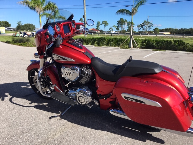 2019 Indian Chieftain Limited at Fort Lauderdale