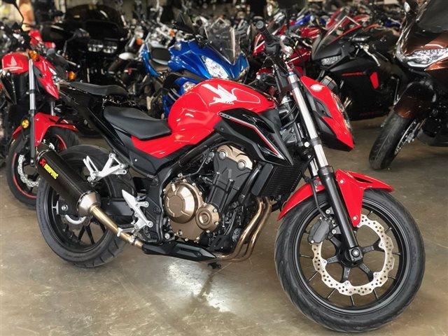 2017 Honda CB500F Base at Powersports St. Augustine