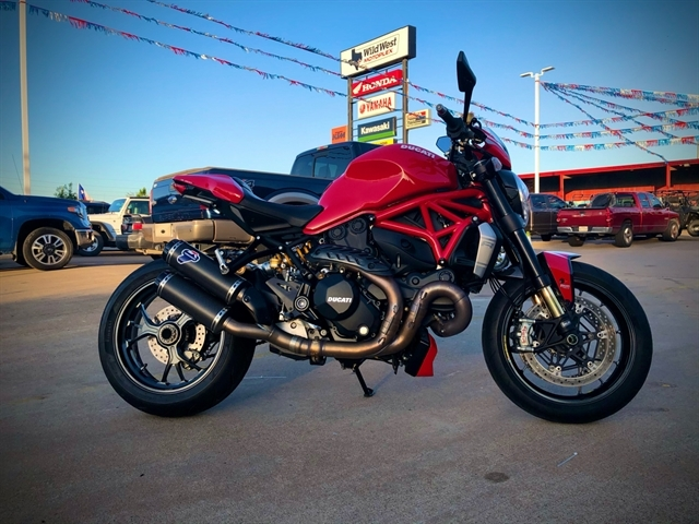 2016 Ducati Monster 1200 R at Wild West Motoplex