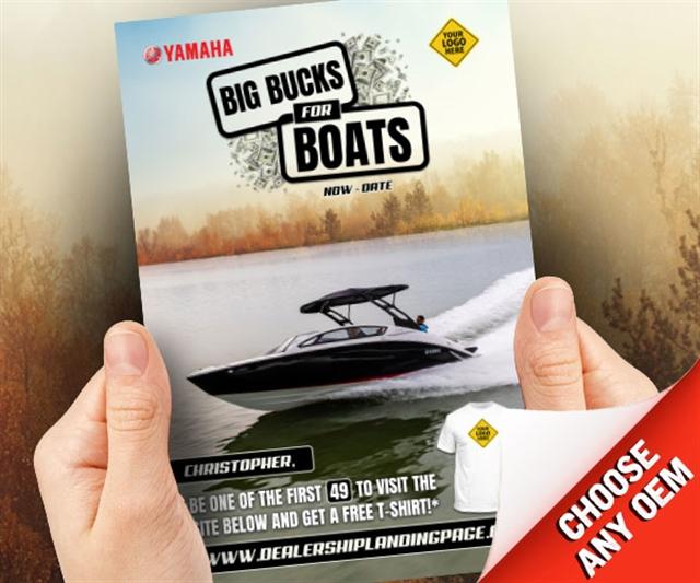 Big Bucks for Boats  at PSM Marketing - Peachtree City, GA 30269