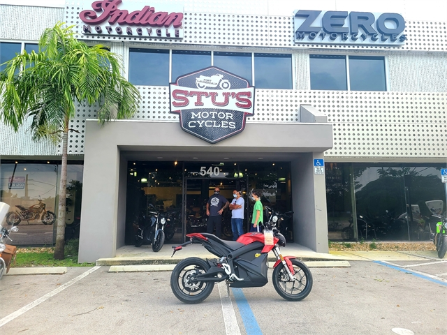 2021 Zero SR ZF144 Power Tank at Fort Lauderdale