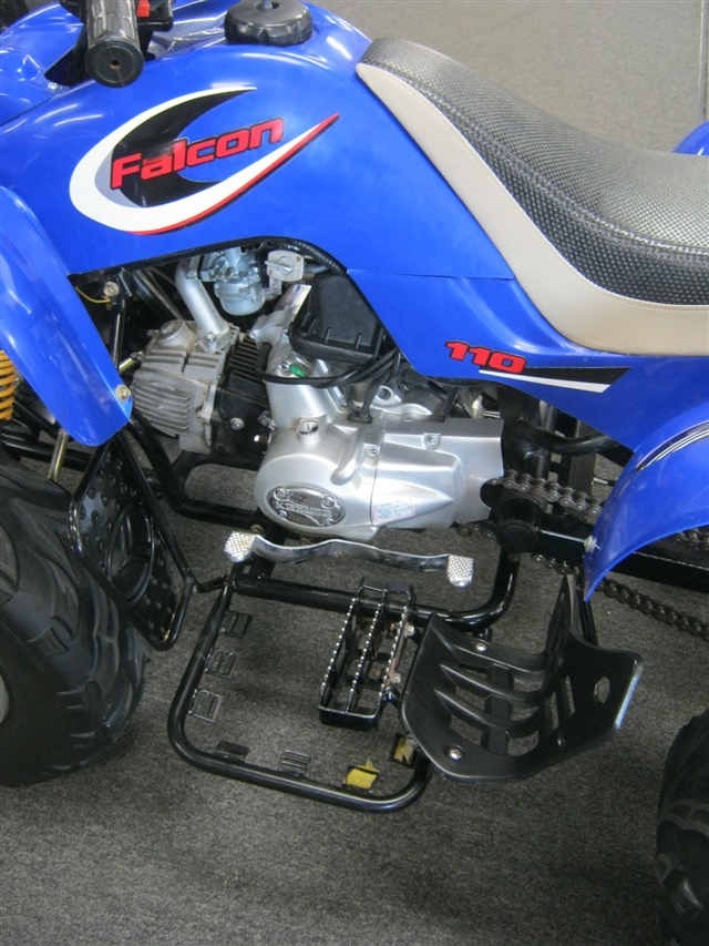 2006 Kazuma Falcon 110 at Brenny's Motorcycle Clinic, Bettendorf, IA 52722