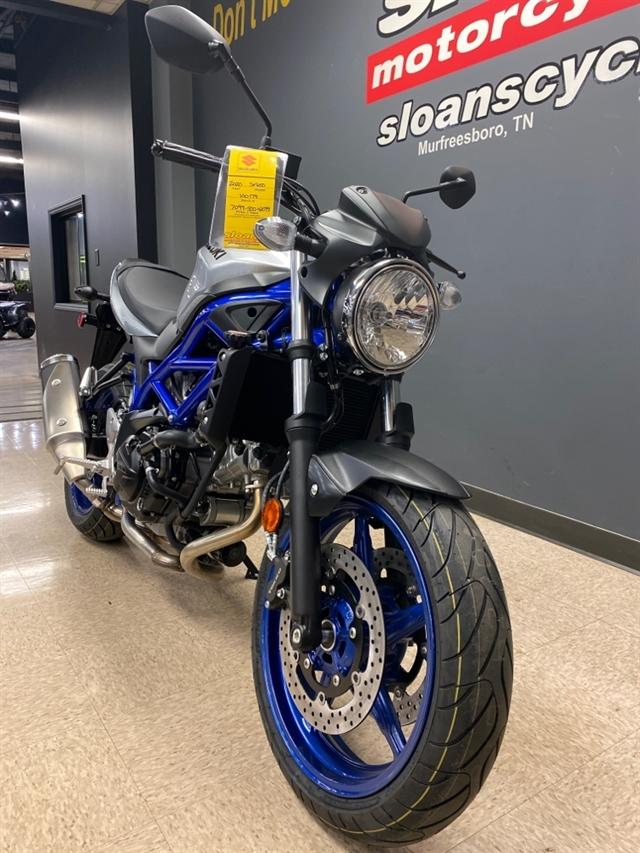 2020 Suzuki SV 650 at Sloans Motorcycle ATV, Murfreesboro, TN, 37129