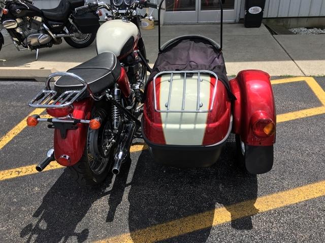 2012 TRIUMPH BONNEVILLE T-100 Sidecar at Randy's Cycle, Marengo, IL 60152
