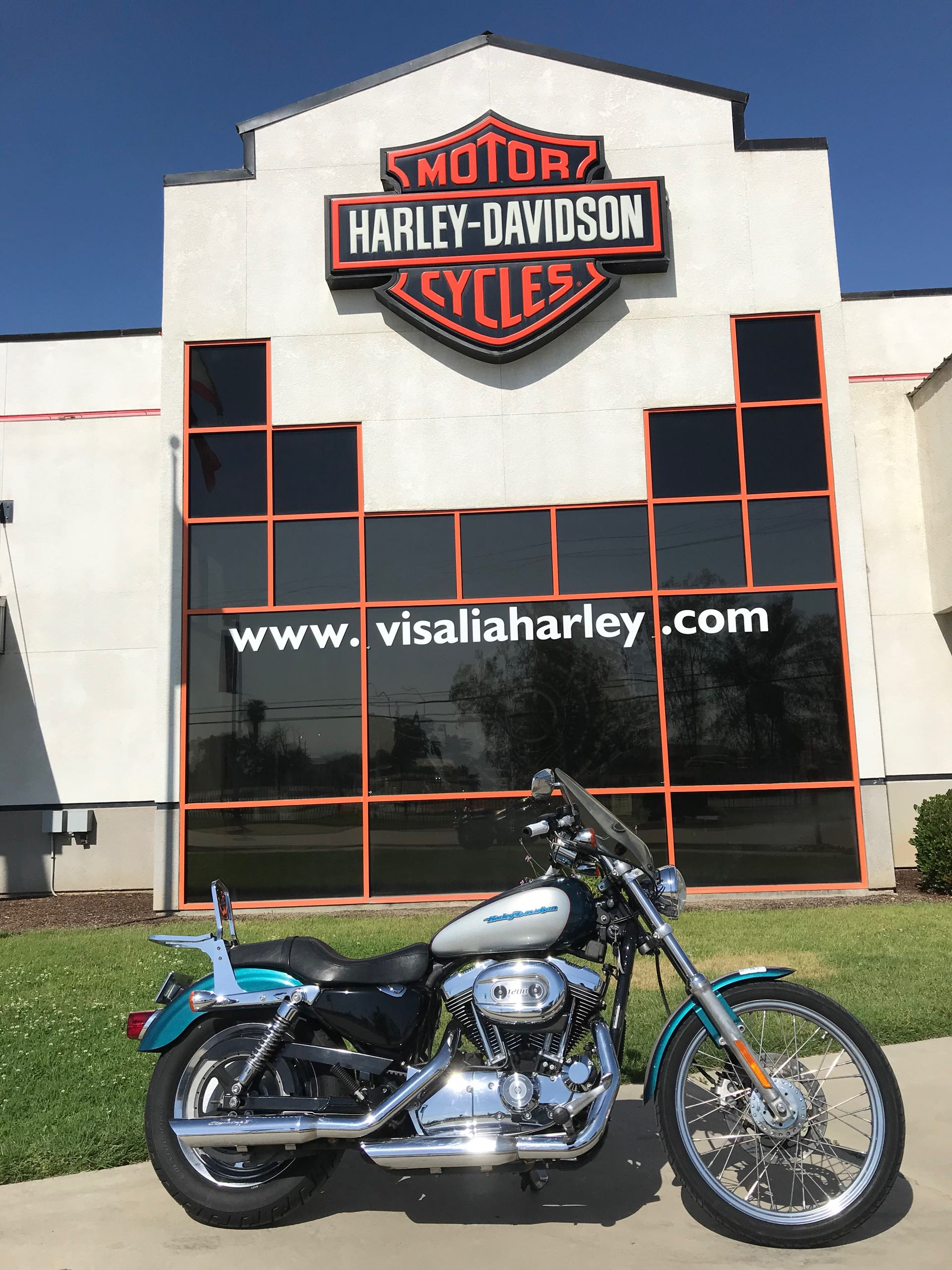 2004 Harley-Davidson Sportster 1200 Custom at Visalia Harley-Davidson