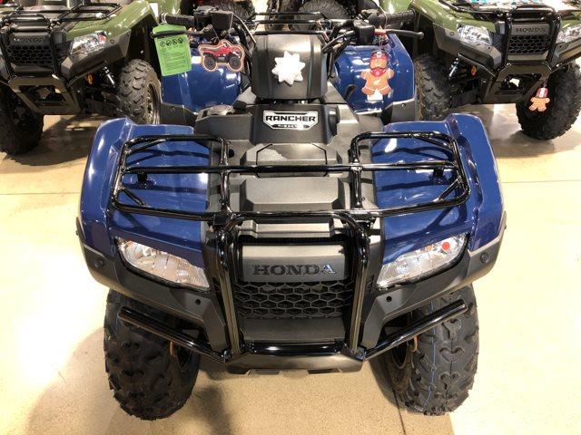 2019 Honda FourTrax Rancher 4X4 Manual Shift 4X4 at Genthe Honda Powersports, Southgate, MI 48195