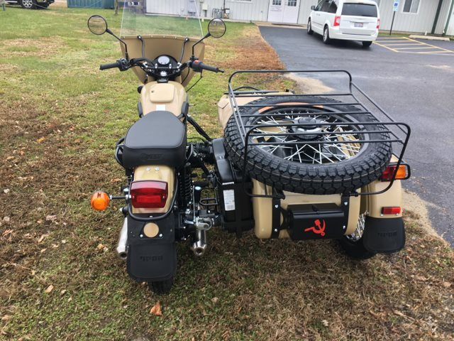 2018 Ural Gear-Up Sahara at Randy's Cycle, Marengo, IL 60152