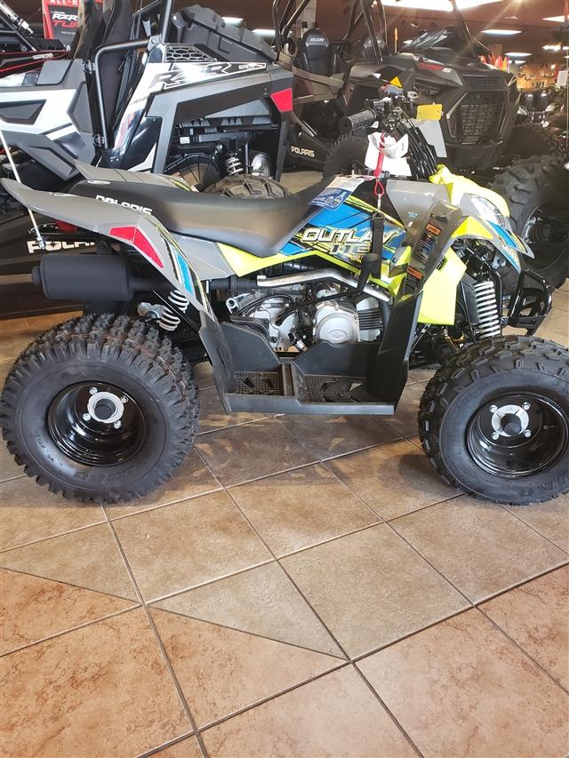 2019 Polaris Outlaw 110 EFI at Reno Cycles and Gear, Reno, NV 89502