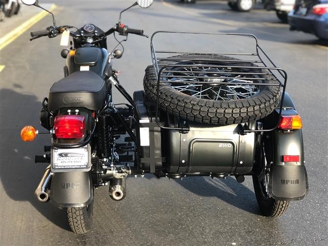 2018 Ural 2 Wheel Drive Gear Up at Lynnwood Motoplex, Lynnwood, WA 98037