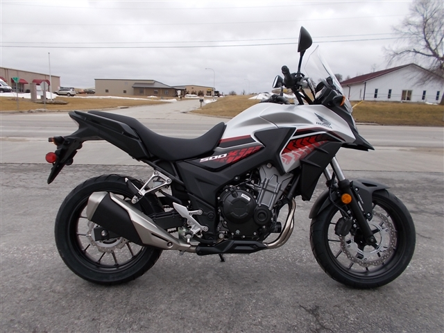 2018 Honda CB500X ABS at Nishna Valley Cycle, Atlantic, IA 50022