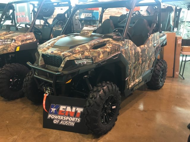 2019 Polaris GENERAL DELUXE CAMO HUNTER EDITION at Kent Powersports of Austin, Kyle, TX 78640