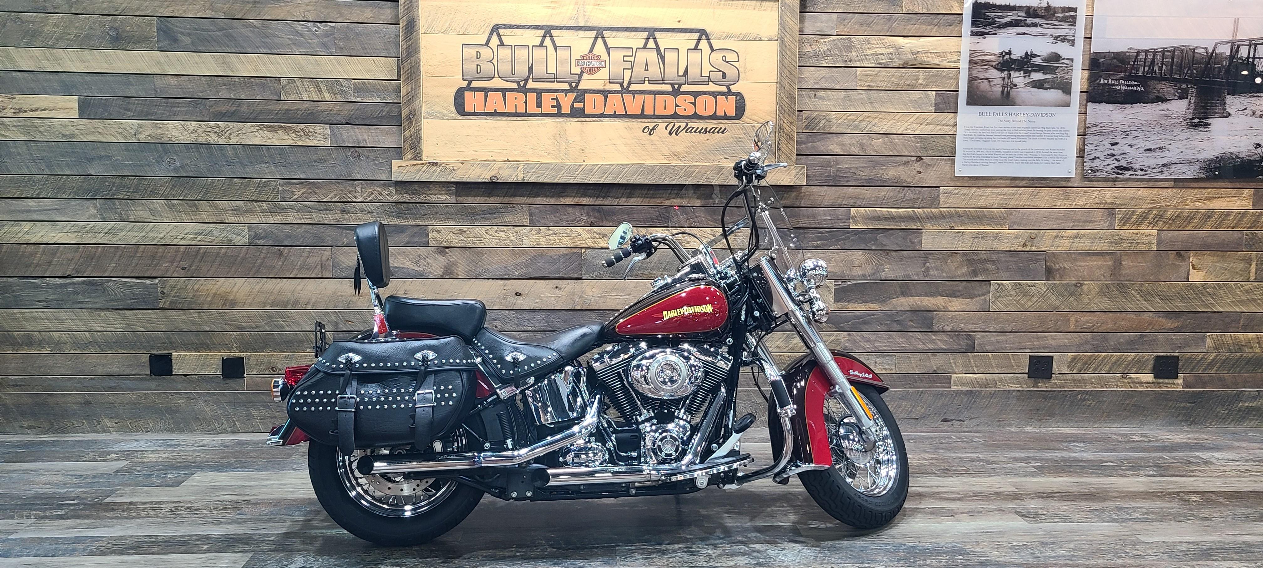 2010 Harley-Davidson Softail Heritage Softail Classic at Bull Falls Harley-Davidson