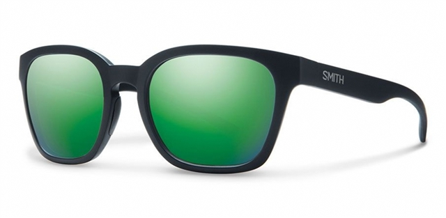 2018 Smith Founder Slim Matte Black w/ Green Sol-X at Harsh Outdoors, Eaton, CO 80615