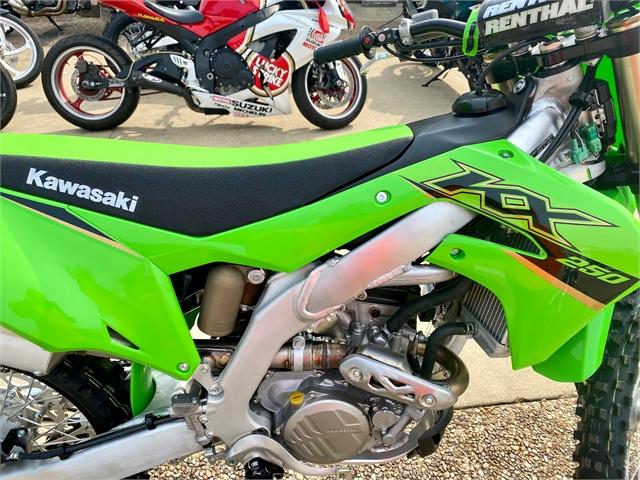 2022 Kawasaki KX 250 at Shreveport Cycles