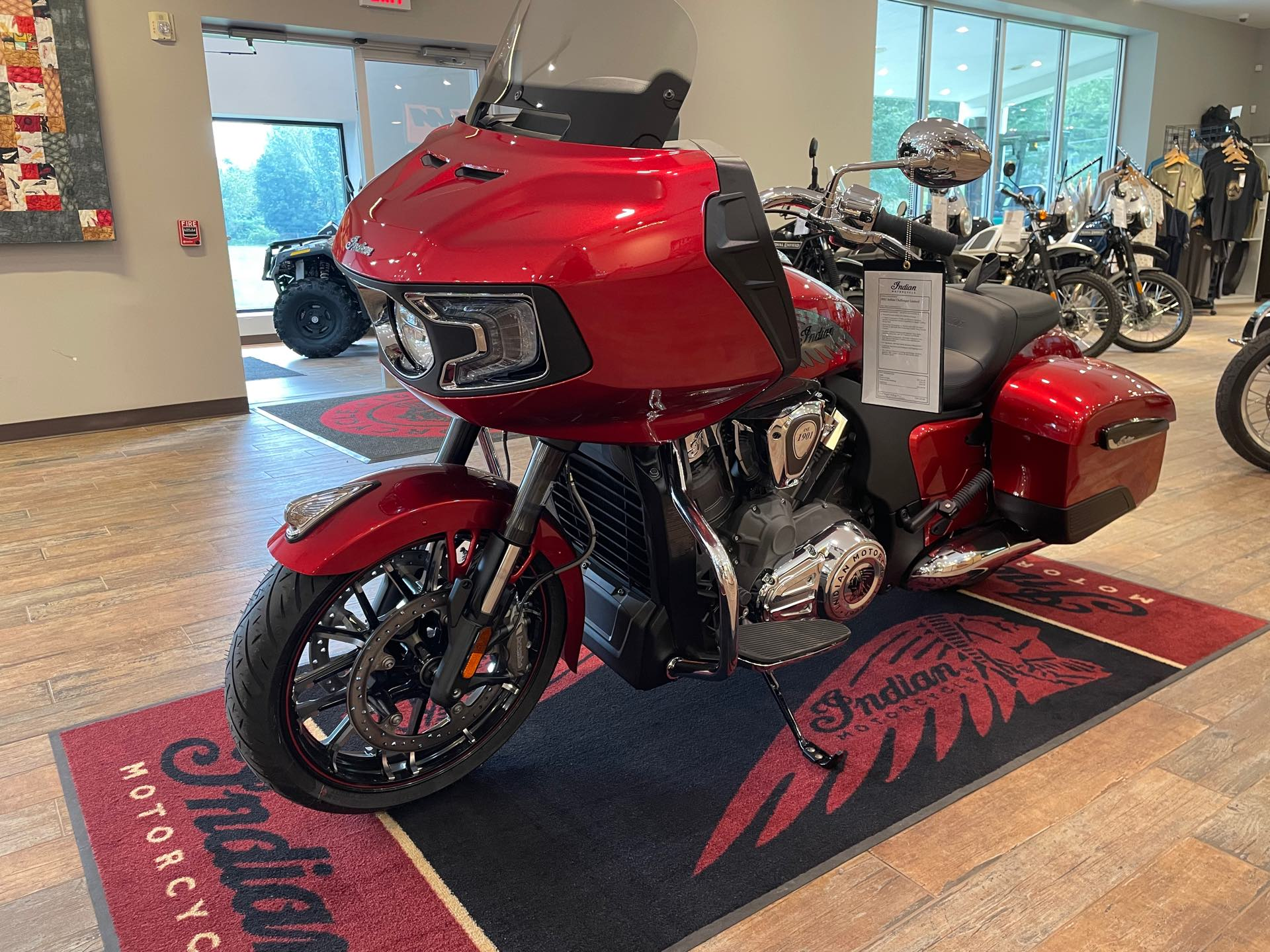 2021 Indian Challenger Challenger Limited at Pitt Cycles