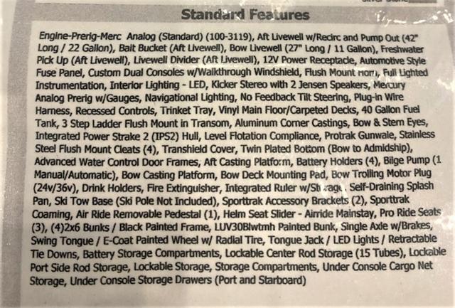 2017 LUND 1875 PRO V SPORT at Pharo Marine, Waunakee, WI 53597