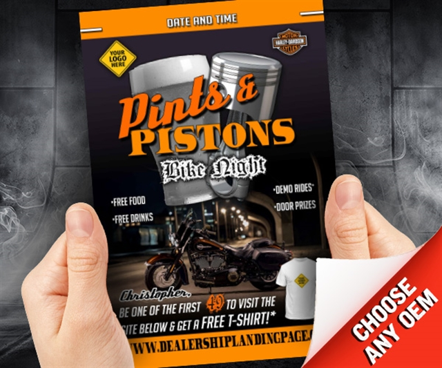 Pints and Pistons Bike Night Powersports at PSM Marketing - Peachtree City, GA 30269