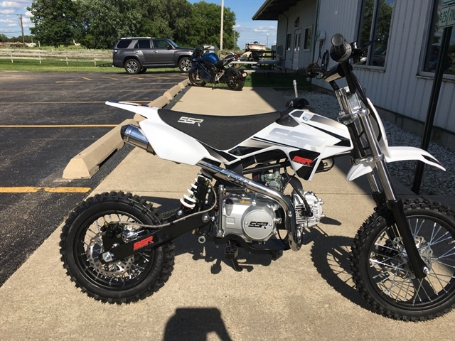 2021 SSR MOTORSPORTS SR125 WHT at Randy's Cycle, Marengo, IL 60152