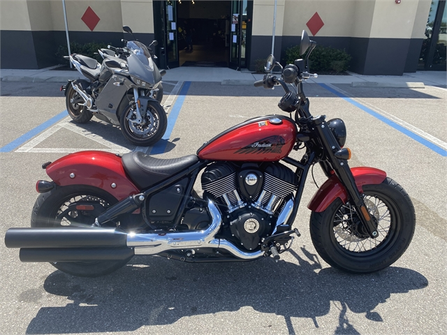 2022 Indian Chief Bobber ABS at Fort Myers