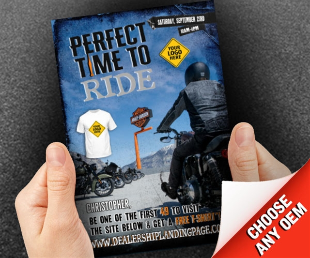 Perfect Time to Ride Powersports at PSM Marketing - Peachtree City, GA 30269