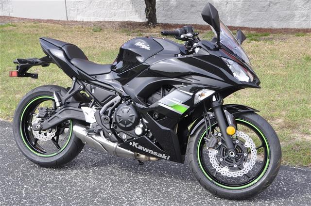 2019 Kawasaki Ninja 650 ABS at Seminole PowerSports North, Eustis, FL 32726