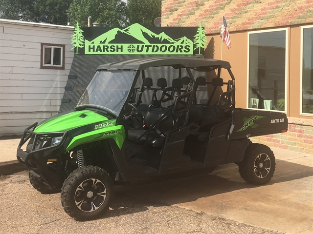 2017 Arctic Cat HDX 700 Crew XT at Harsh Outdoors, Eaton, CO 80615