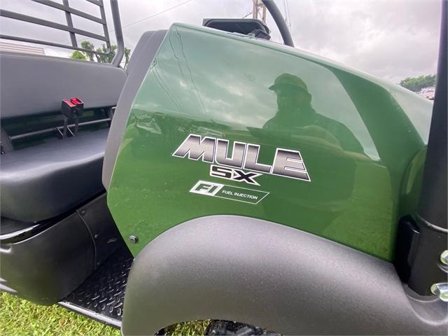 2021 Kawasaki Mule SX FI 4x4 at Shreveport Cycles