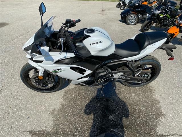 2020 Kawasaki Ninja 650 ABS at Jacksonville Powersports, Jacksonville, FL 32225