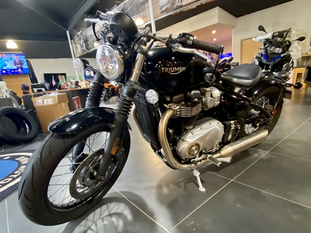 2018 Triumph Bonneville Bobber Base at Shreveport Cycles