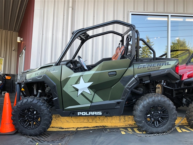2018 Polaris GENERAL 1000 EPS LIMITED EDITION MATTE SAGE GREEN at Lynnwood Motoplex, Lynnwood, WA 98037
