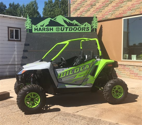 2017 Arctic Cat Wildcat Sport Limited EPS at Harsh Outdoors, Eaton, CO 80615