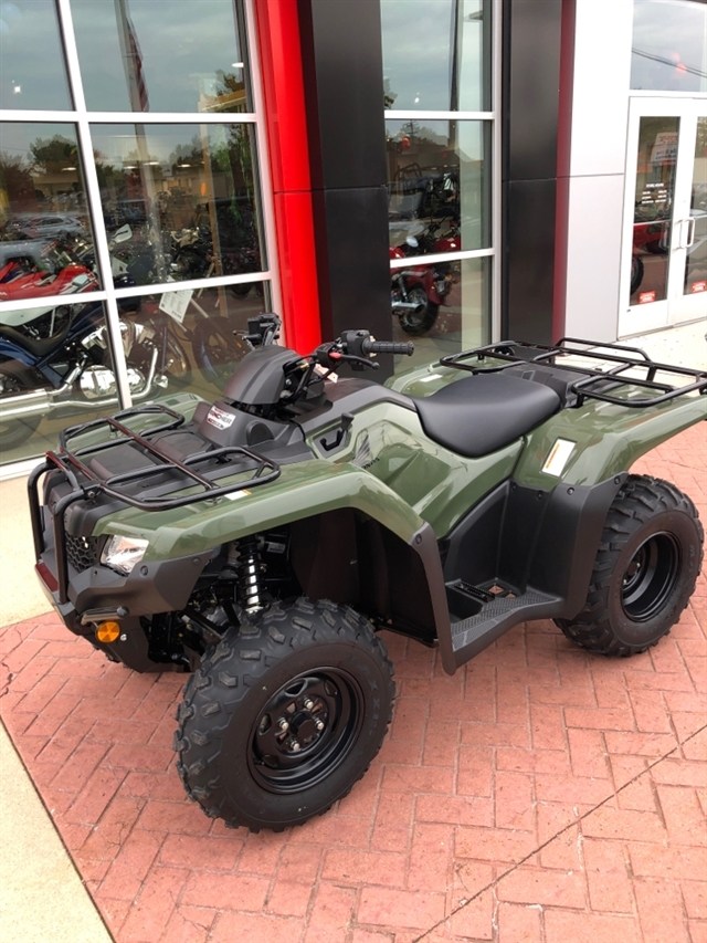 2019 Honda FourTrax Rancher 4X4 Automatic DCT EPS at Genthe Honda Powersports, Southgate, MI 48195