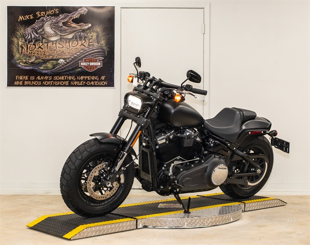 2018 Harley-Davidson Softail Fat Bob at Mike Bruno's Northshore Harley-Davidson