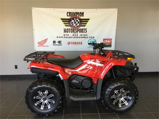 2021 CFMOTO CFORCE CFORCE 500 EPS at Champion Motorsports