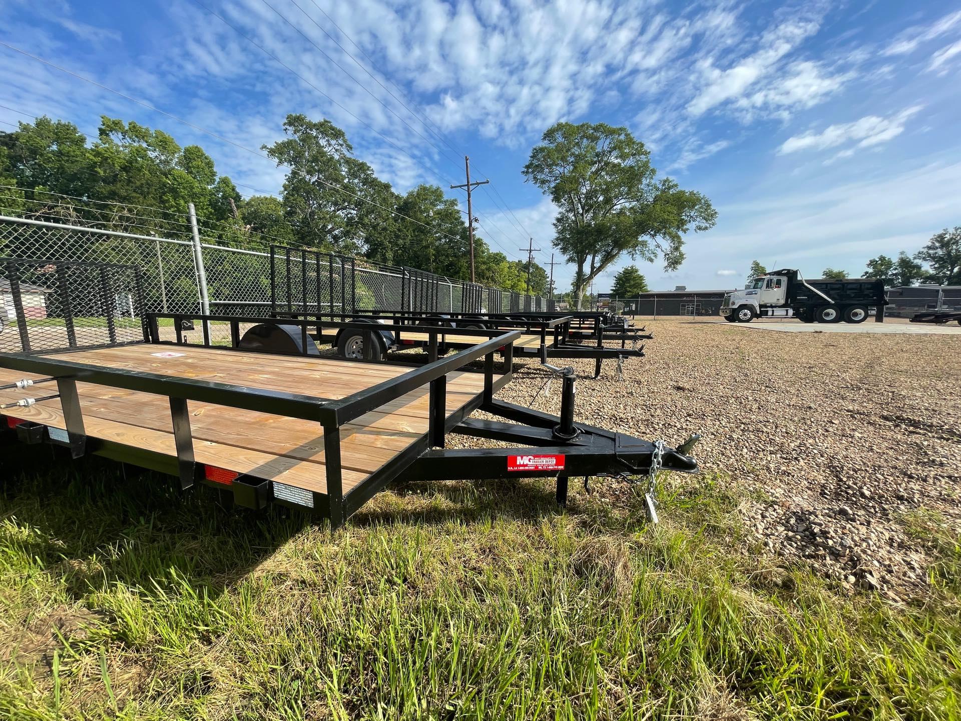 2021 MCCLAIN TRAILERS 6X13 Short Gate at ATV Zone, LLC