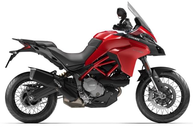 2020 Ducati Multistrada 950 S Spoked Wheels at Frontline Eurosports