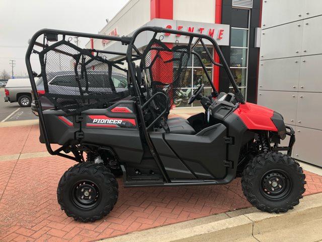 2018 Honda Pioneer 700-4 SEAT Base at Genthe Honda Powersports, Southgate, MI 48195