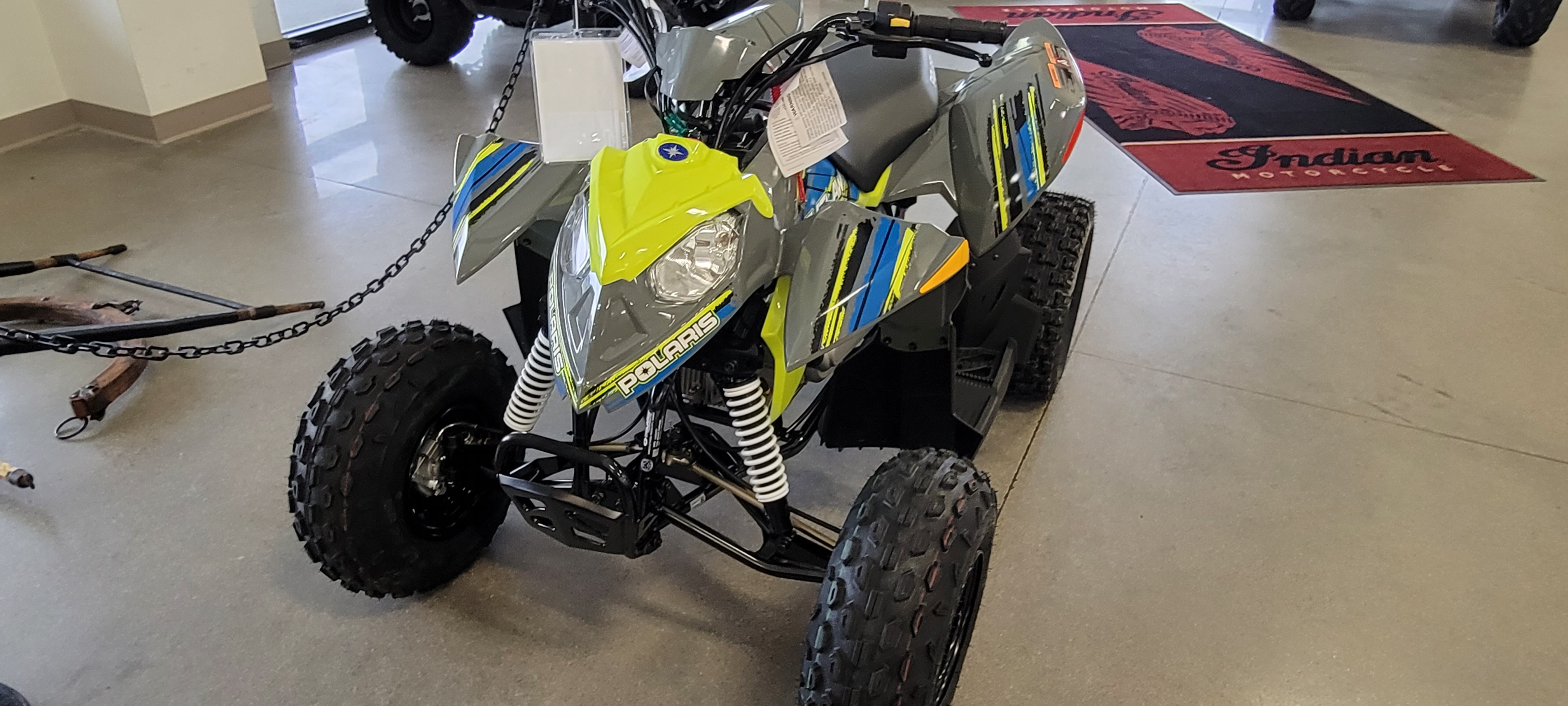 2021 Polaris Outlaw 110 EFI at Brenny's Motorcycle Clinic, Bettendorf, IA 52722