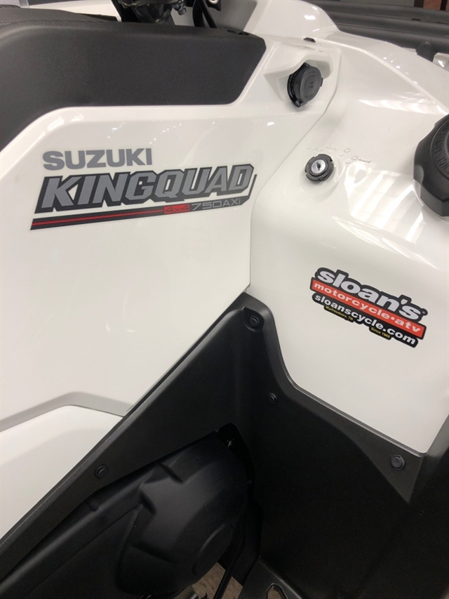 2020 Suzuki KingQuad 750 AXi Power Steering SE at Sloans Motorcycle ATV, Murfreesboro, TN, 37129