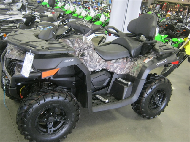 2020 CFMoto CForce 600 EPS Touring Camo at Brenny's Motorcycle Clinic, Bettendorf, IA 52722