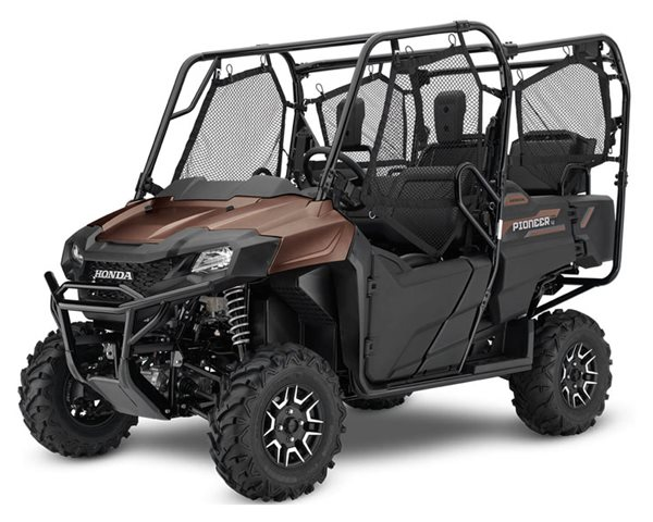 2021 Honda Pioneer 700-4 Deluxe at Kodiak Powersports & Marine